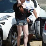 Lindsay Lohan Arrives at Lohan Beach Club in Mykonos 06/10/2018-3
