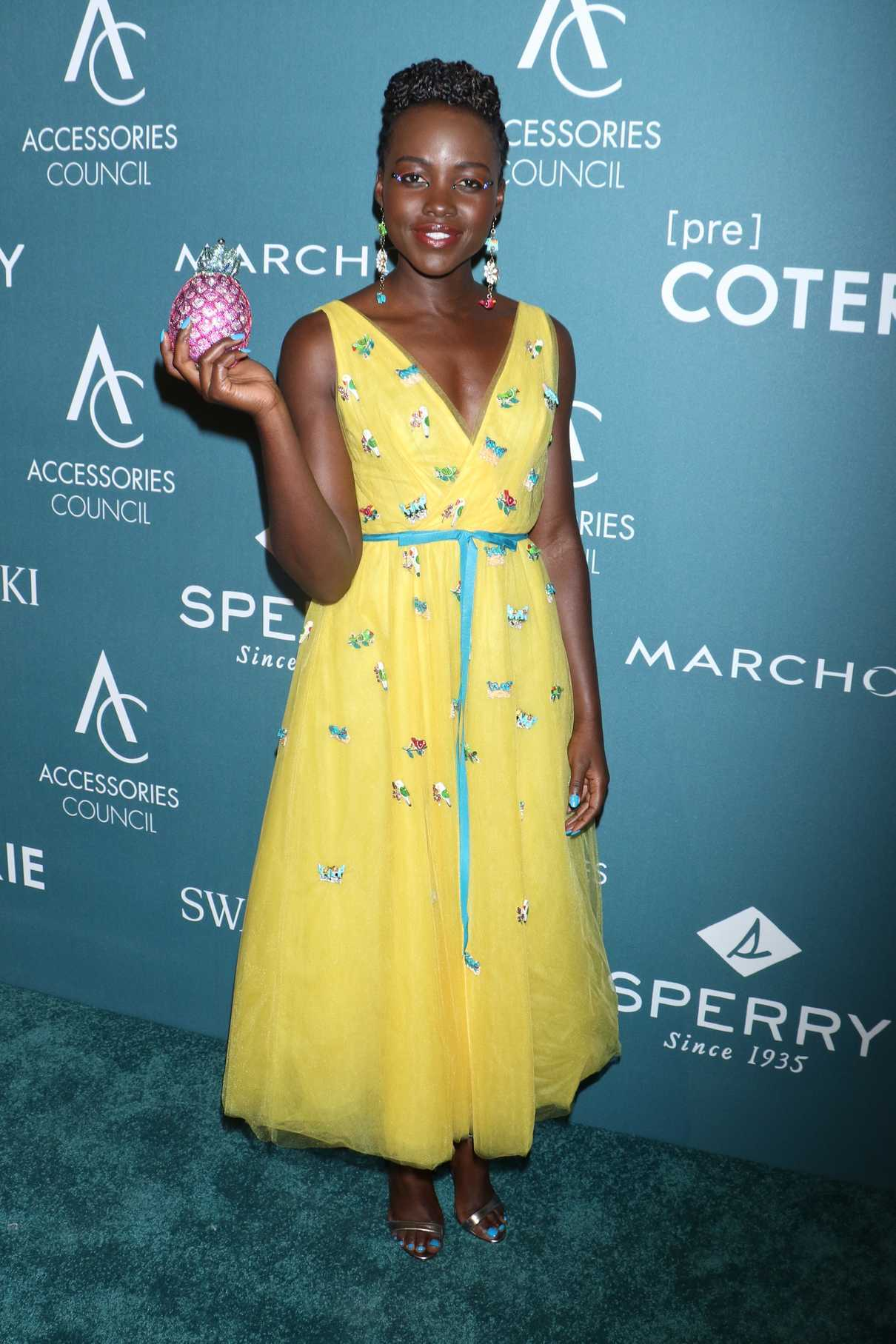 Lupita Nyong'o Attends the 22nd Annual Ace Awards in New York City 06/11/2018-3