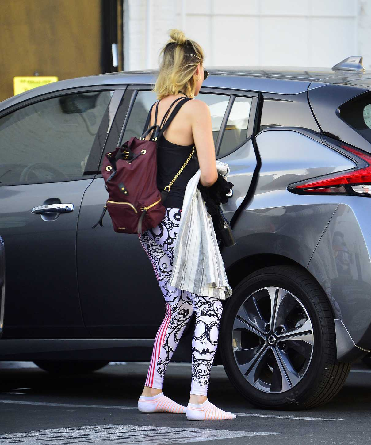Margot Robbie Leaves Her Local Gym in Los Angeles 06/11/2018-3