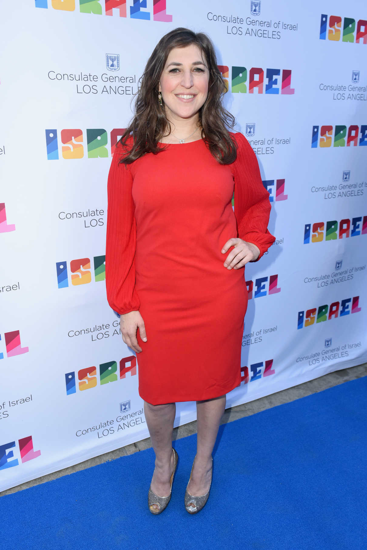 Mayim Bialik at the 70th Anniversary of Israel Celebration in Universal City 06/10/2018-1