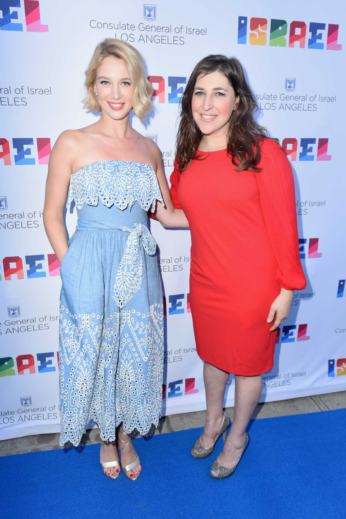 Mayim Bialik at the 70th Anniversary of Israel Celebration in Universal City 06/10/2018-3
