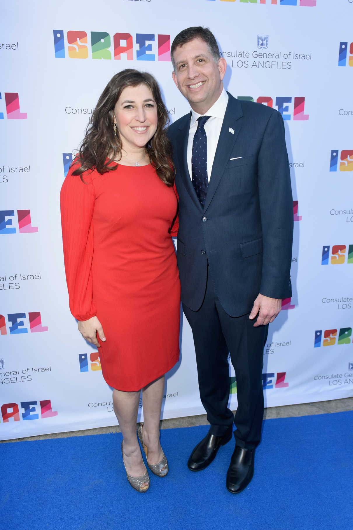 Mayim Bialik at the 70th Anniversary of Israel Celebration in Universal City 06/10/2018-4