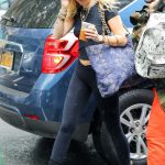 Miley Cyrus Arrives at the Recording Studio in the West Village, New York 06/28/2018-2