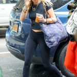 Miley Cyrus Arrives at the Recording Studio in the West Village, New York 06/28/2018-3