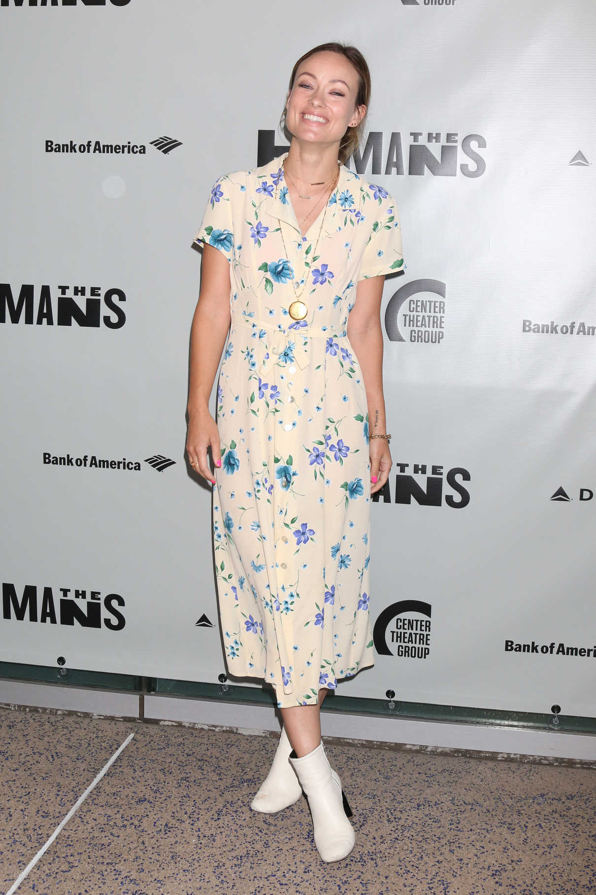 Olivia Wilde at Opening Night of The Humans in Los Angeles 06/20/2018-1