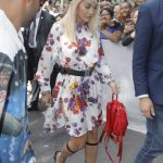 Rita Ora Arrives at the Dior Homme Show During Paris Fashion Week Men's in Paris 06/23/2018-3