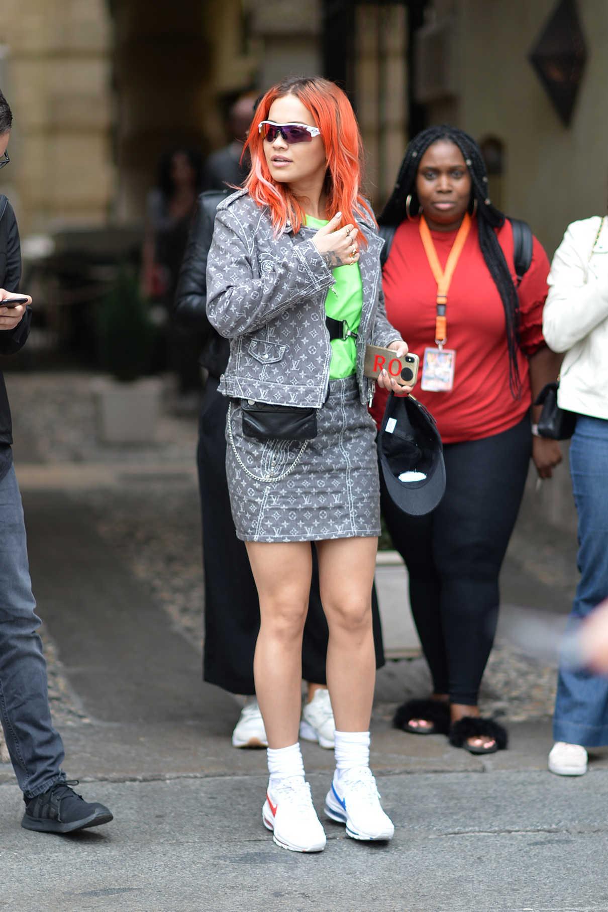 Rita Ora Was Seen Out in Verona 06/04/2018-1