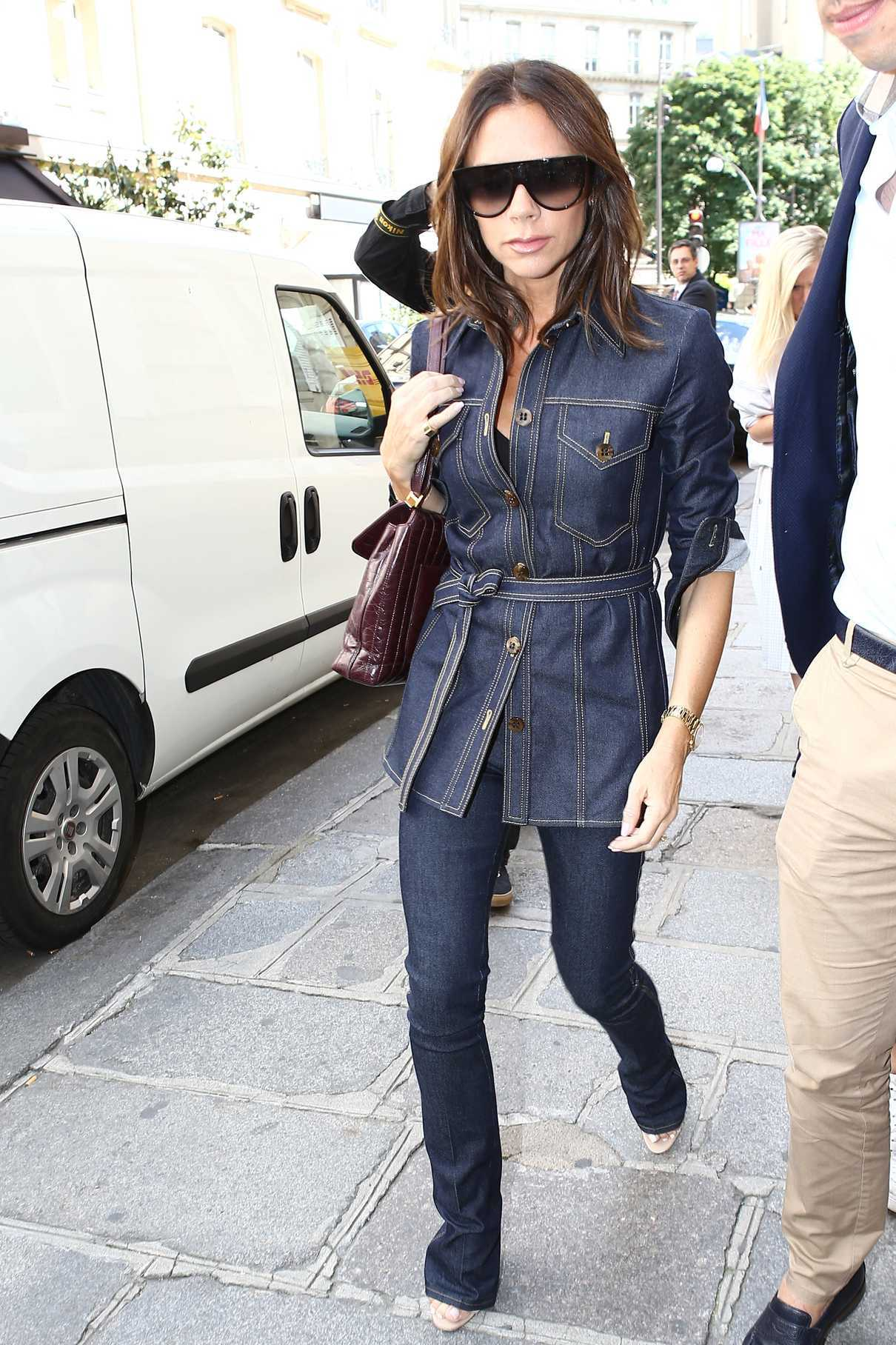 Victoria Beckham Was Seen Out in Paris 06/22/2018-1