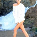 Charlotte McKinney Does a Photo Shoot on the Beach in Malibu 07/08/2018-4