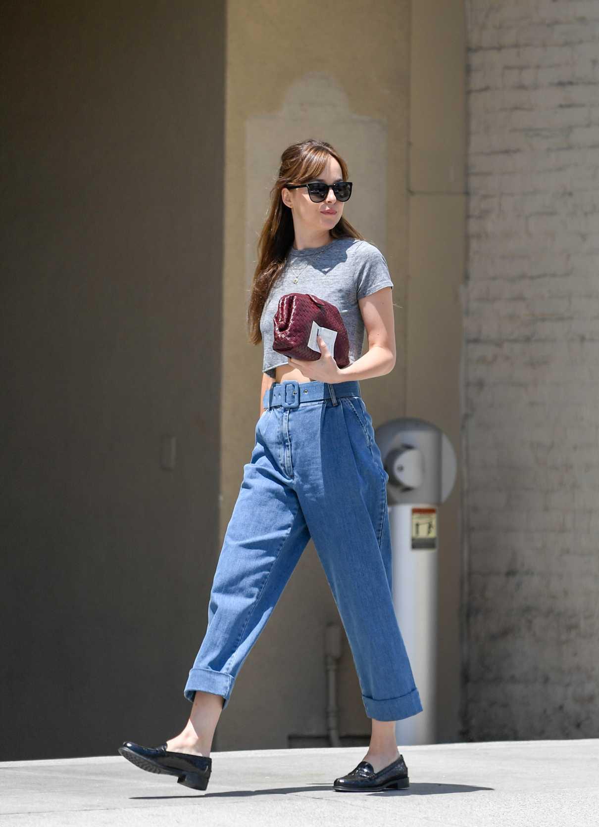 Dakota Johnson Leaves Thibiant in Beverly Hills 07/11/2018-2