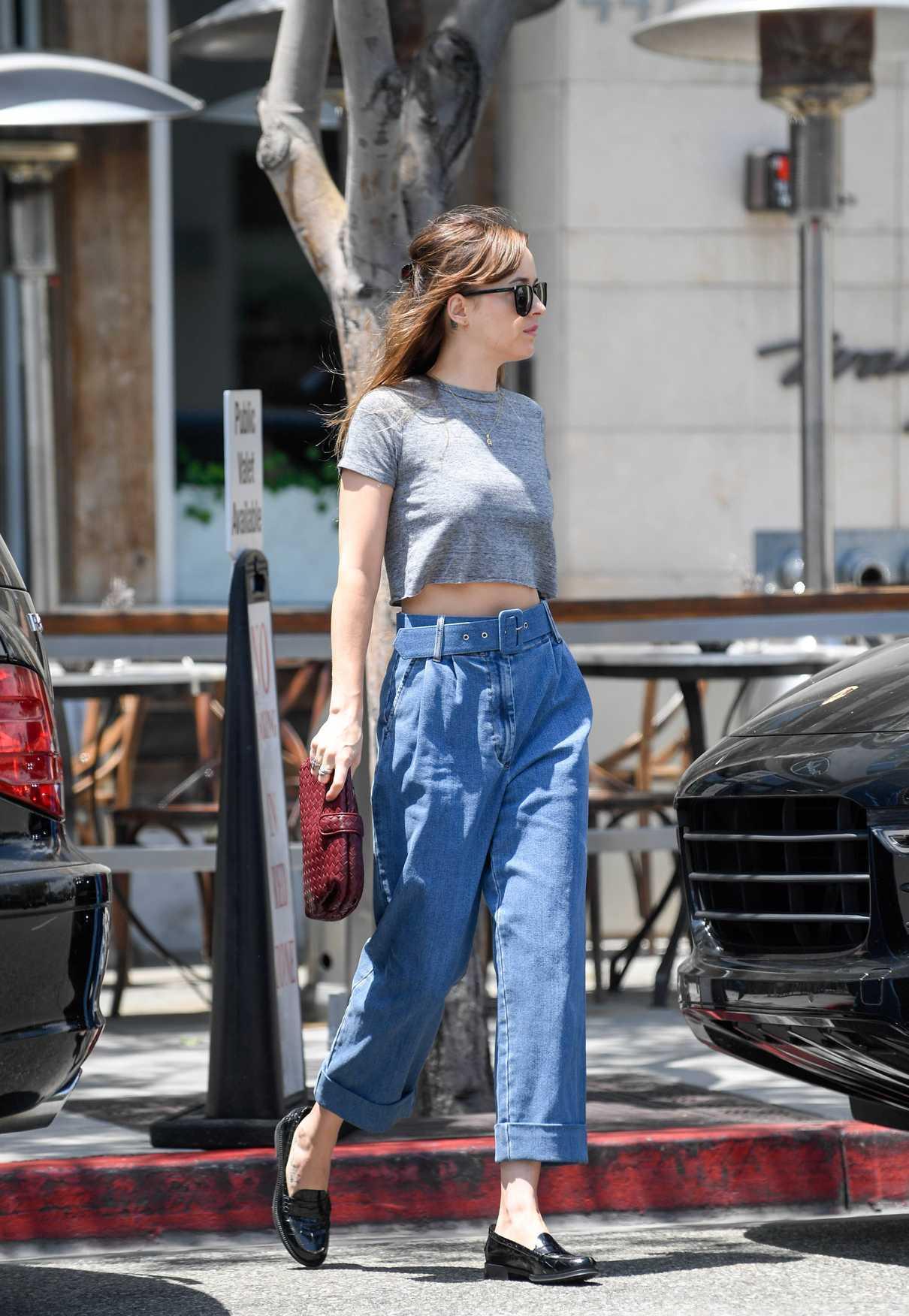 Dakota Johnson Leaves Thibiant in Beverly Hills 07/11/2018-4