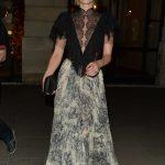 Emma Roberts Leaves Dior Dinner in Paris 07/03/2018-2