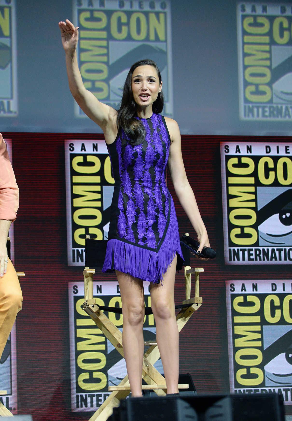 Gal Gadot at Warner Bros Panel During 2018 Comic-Con in San Diego 07/21/2018-1