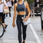 Georgia Fowler Leaves a Yoga Session in New York City 07/09/2018-3