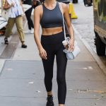 Georgia Fowler Leaves a Yoga Session in New York City 07/09/2018-4