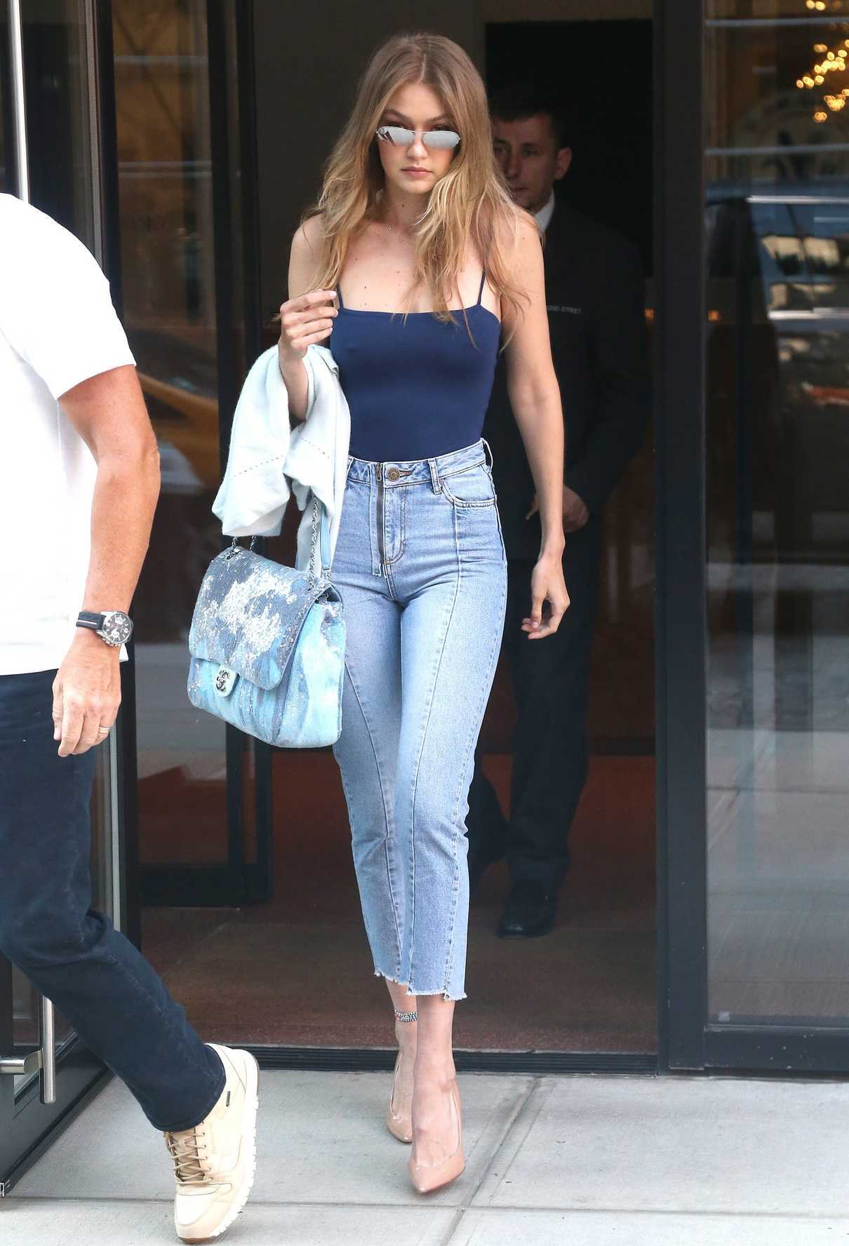 Gigi Hadid Leaves Her Apartment in New York City 07/10/2018-1