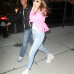 Gigi Hadid Wears a Pink Jacket Out in New York City 07/17/2018-4