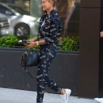 Hailey Baldwin Wears a Versace Outfit in Brooklyn, New York 07/05/2018-4