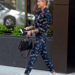 Hailey Baldwin Wears a Versace Outfit in Brooklyn, New York 07/05/2018-5