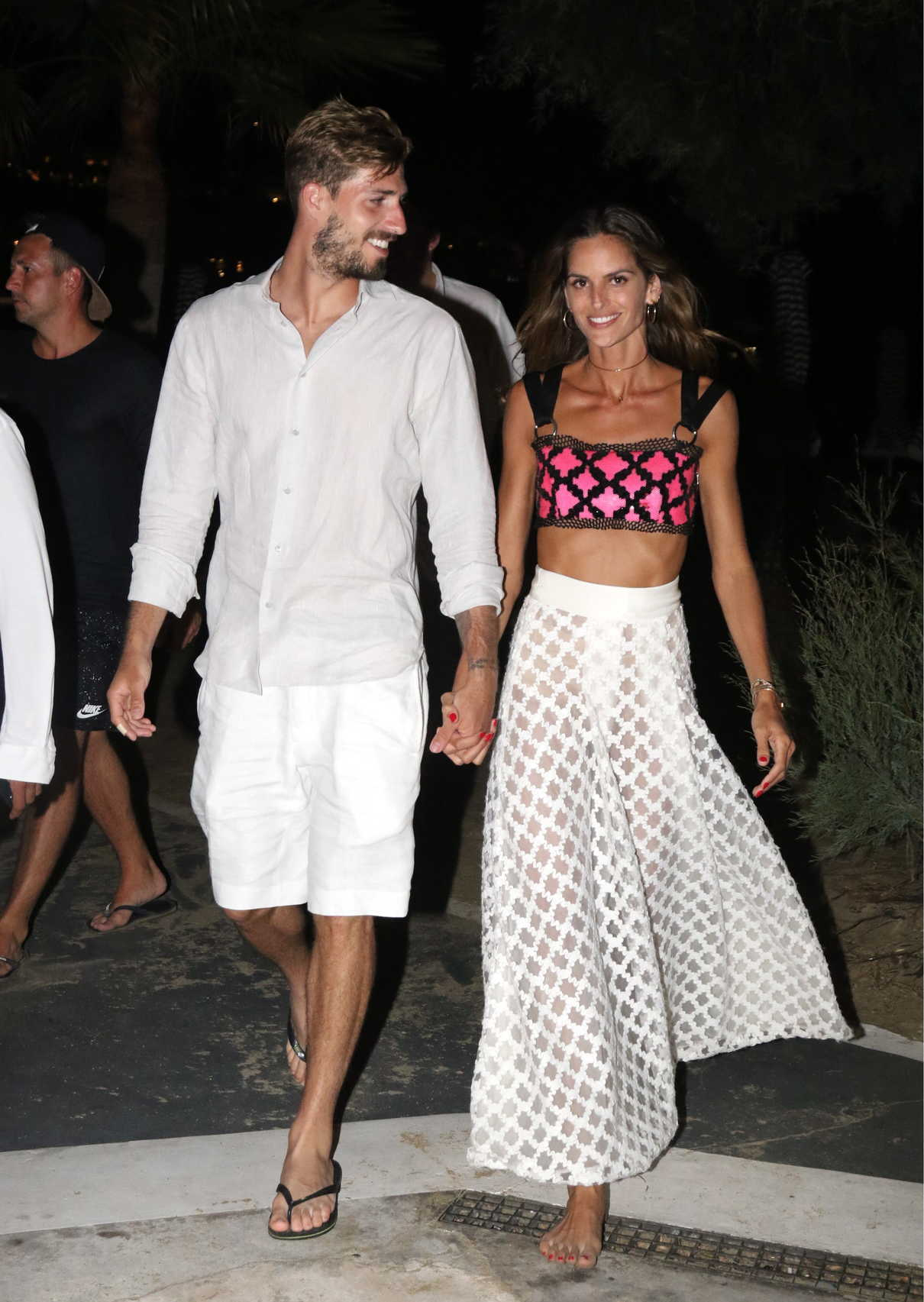 Izabel Goulart Was Spotted Out with Kevin Trapp on Mykonos Island in Greece 07/08/2018-1