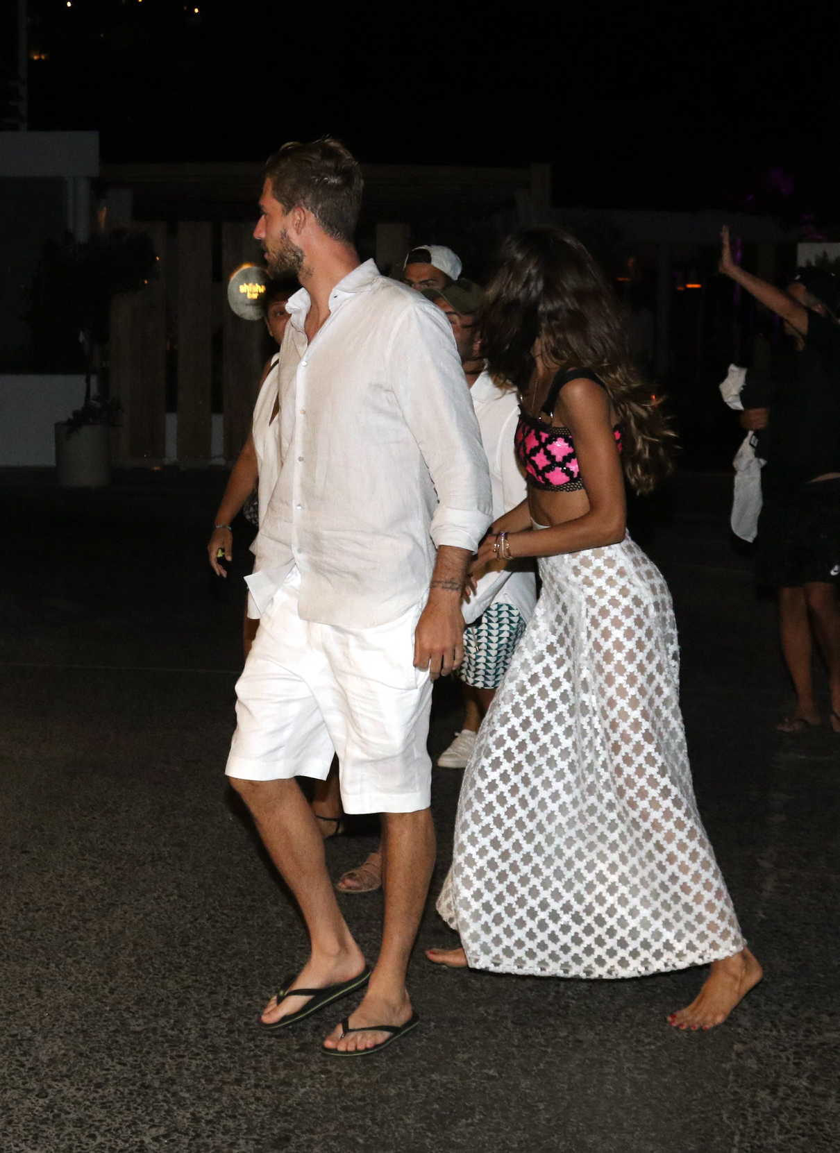 Izabel Goulart Was Spotted Out with Kevin Trapp on Mykonos Island in Greece 07/08/2018-4