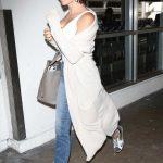 Jenna Dewan in a White Cardigan