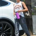 Jenna Dewan in a Workout Clothes