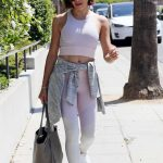Jenna Dewan Wears a Sports Bra Out in West Hollywood 07/19/2018-2