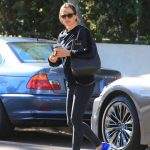 Jennifer Garner in a Blue Asics Sneakers