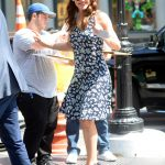 Jennifer Garner Wears a Floral Dress Out in New York City 07/16/2018-4