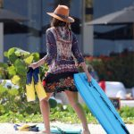 Jessica Alba Was Spotted on the Beach in Mexico 07/05/2018-4