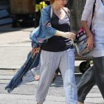 Jessica Chastain on the Set of IT: Chapter Two in Toronto 07/10/2018-3