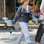 Jessica Chastain on the Set of IT: Chapter Two in Toronto 07/10/2018-4
