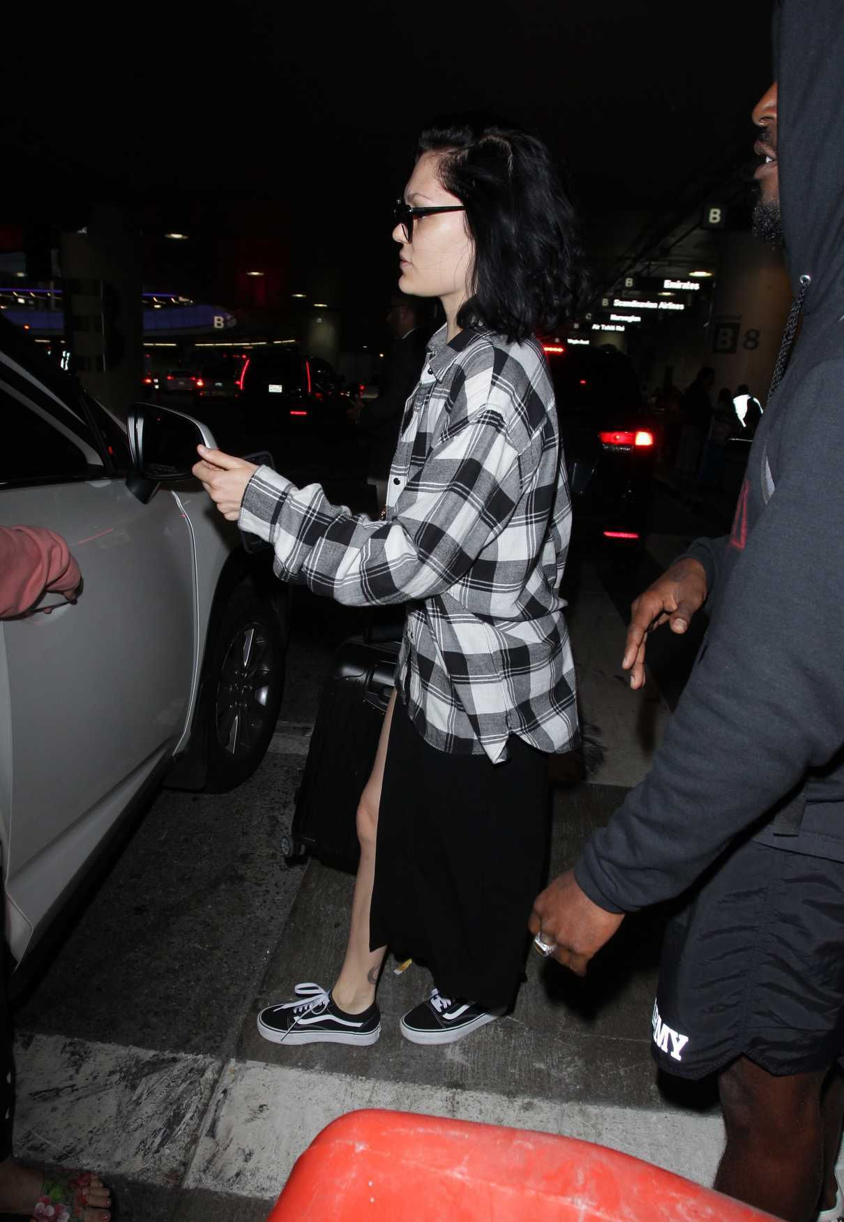 Jessie J Arrives to LAX Airport in Los Angeles 07/03/2018-4