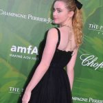 Kathryn Newton Attends amfAR Dinner During Paris Fashion Week in Paris 07/04/2018-4