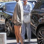 Kendall Jenner Wears a Large Sweatshirt Out in Calabasas 07/20/2018-3