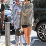 Kendall Jenner Wears a Large Sweatshirt Out in Calabasas 07/20/2018-4