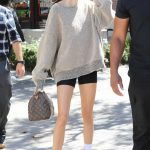 Kendall Jenner Wears a Large Sweatshirt Out in Calabasas 07/20/2018-5