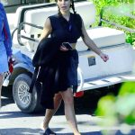 Kim Kardashian Arrives on a Boat on a Lake in Idaho 07/06/2018-3