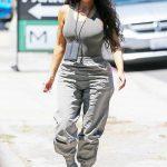Kim Kardashian in a Moss Track Pants