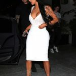 Kim Kardashian Out to Dinner at Spago's in Los Angeles 06/30/2018-5