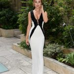 Kimberley Garner Attends the American Cathedral Church of the Holy Trinity in Paris 07/07/2018-3