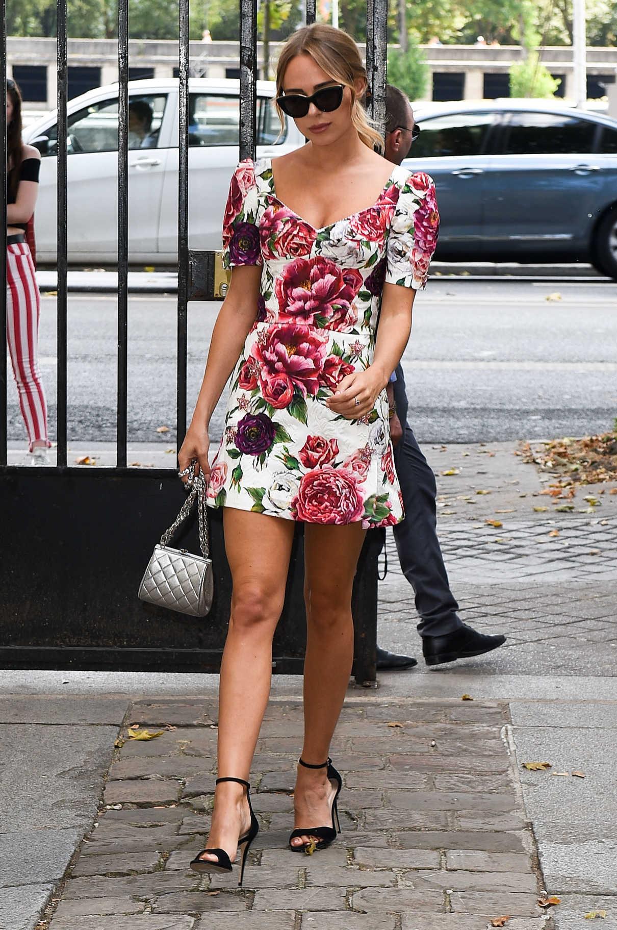 Kimberley Garner Attends the Celia Kritharioti Fashion Show in Paris 07/03/2018-1