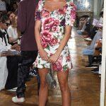 Kimberley Garner Attends the Celia Kritharioti Fashion Show in Paris 07/03/2018-4
