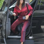 Kourtney Kardashian Arrives at the Katsuya Restaurant in Los Angeles 07/10/2018-2