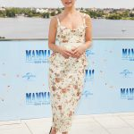 Lily James at the Mamma Mia! Here We Go Again Photocall in Hamburg 07/12/2018-2