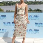 Lily James at the Mamma Mia! Here We Go Again Photocall in Hamburg 07/12/2018-3