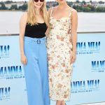 Lily James at the Mamma Mia! Here We Go Again Photocall in Hamburg 07/12/2018-4