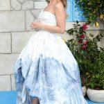 Lily James at the Mamma Mia! Here We Go Again World Premiere at the Eventim Apollo in London 07/16/2018-2