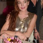 Lindsay Lohan Celebrates Her Birthday at a Club on Mykonos 07/02/2018-5